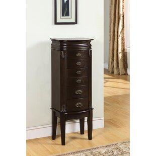 Where buy  Casias Transitional Jewelry Armoire in Espresso ByAlcott Hill