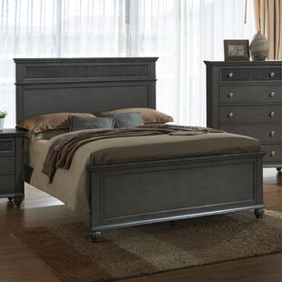 Charlton Home Fulbright Panel Bed