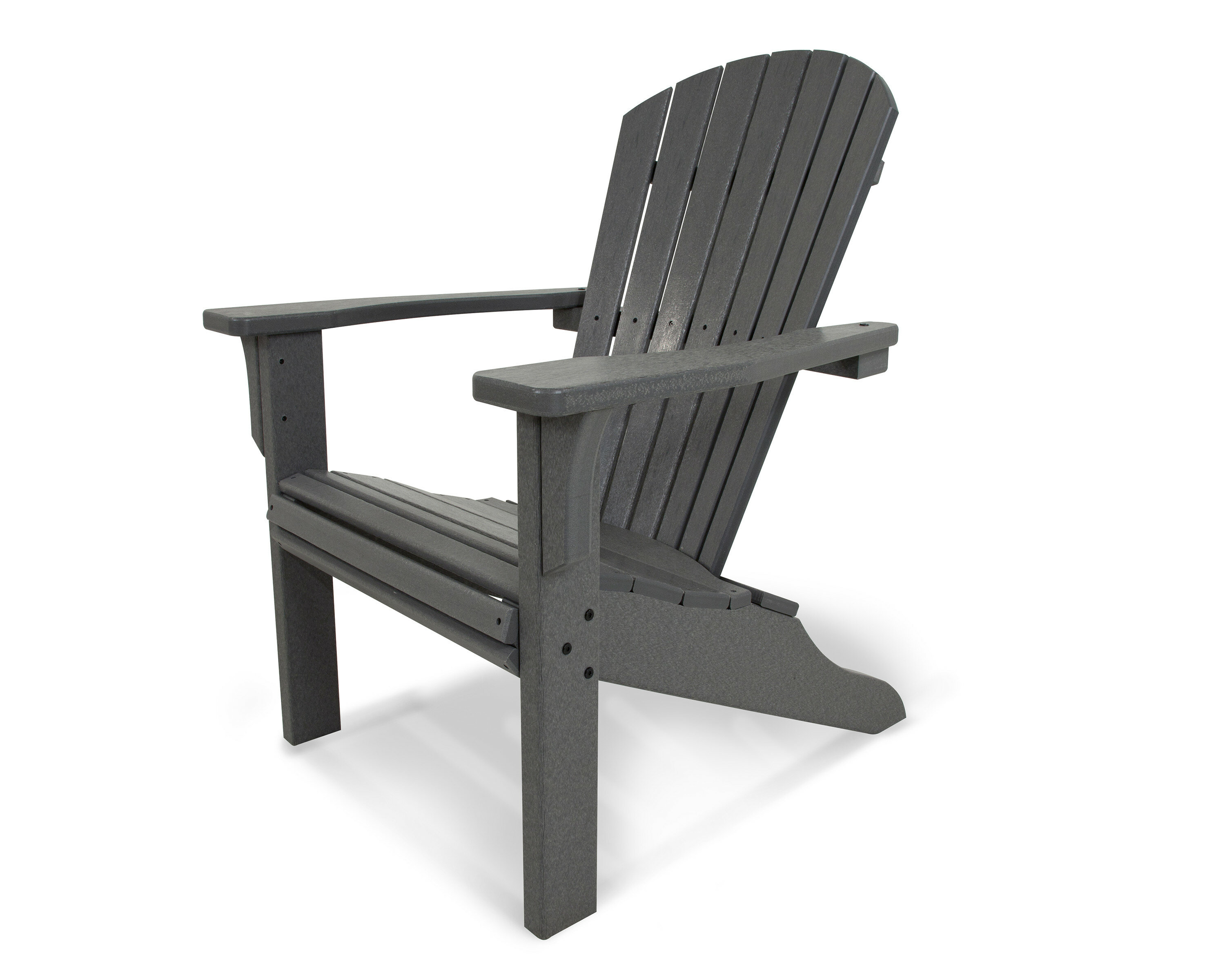 Superbe POLYWOOD® Seashell Plastic Adirondack Chair U0026 Reviews | Wayfair