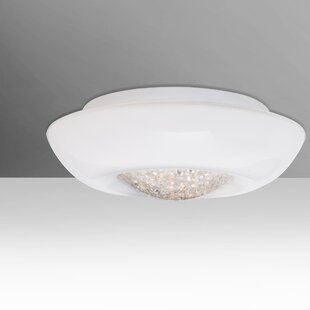 Besa Lighting Gleem 1-Light Flush Mount