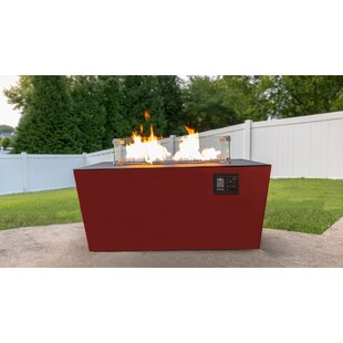 Echo Aluminum Propane/Natural Gas Fire Pit Table