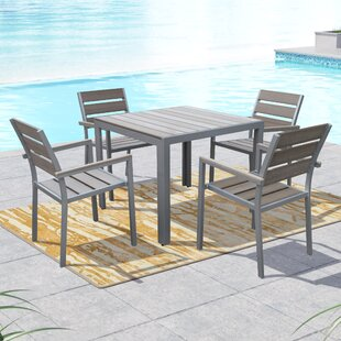 Beachcrest Home Allen 5 Piece Dining Set