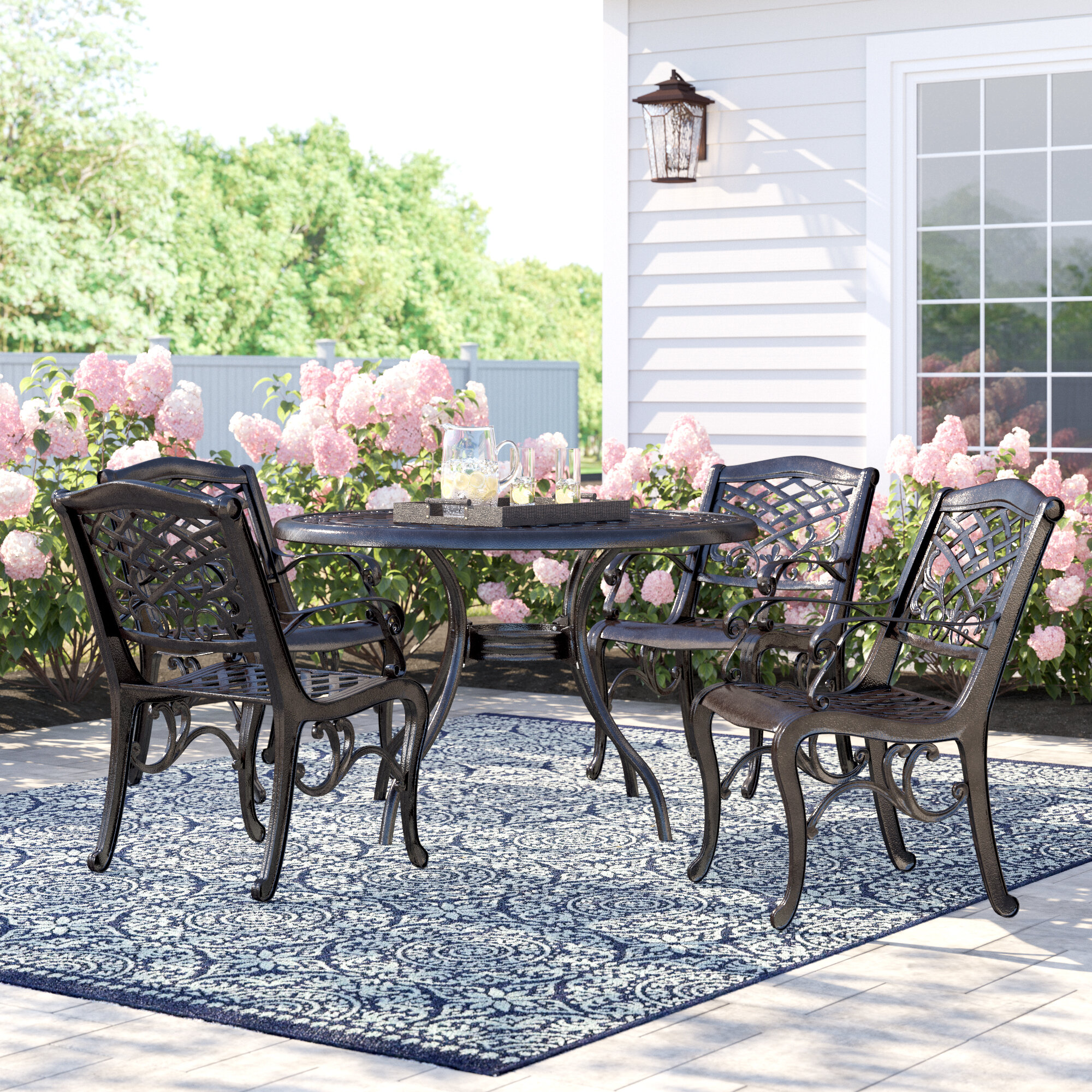 Four Person Patio Dining Sets You'll Love in 2020 | Wayfair