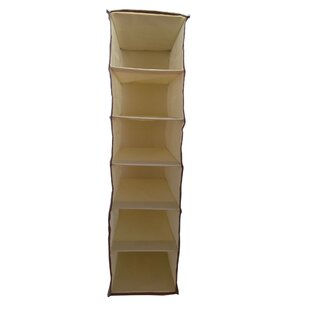 Online Reviews Soft Storage 6 Compartment Hanging Organizer By Elegant Home Fashions
