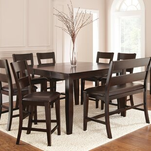 Wynwood Counter Height Dining Set With 2 Benches And 4 Side Chairs