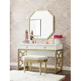 Chelsea Vanity Set with Mirror by Rachael Ray Home