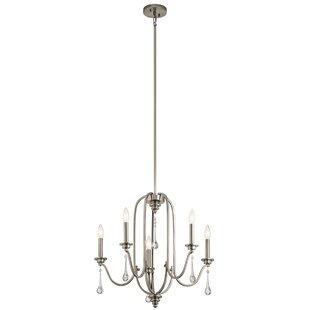 Rosdorf Park Landry 5-Light Chandelier