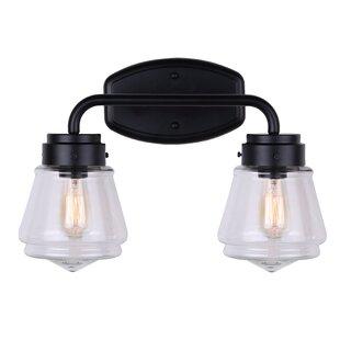 Find Nickalls 2-Light Vanity Light By Gracie Oaks
