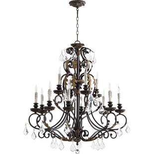 Ancram 12-Light Chandelier..