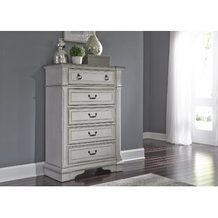 Ophelia & Co. Ginyard 5 Drawer Chest