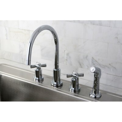 Polished Brass Widespread Faucet Pull Down Polished Brass