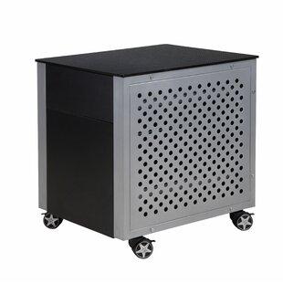 Latitude Run Kuiper Carbon Fiber 2-Drawer Vertical Filing Cabinet
