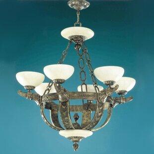 Zanin Lighting Inc. Melilla 6-Light Shaded Chandelier