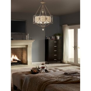 Lark Manor Villeroy 4-Light Lantern Chandelier