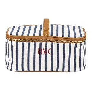 Striped Toiletry Cosmetic Bag 528ec01d86bb6