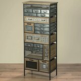 Smithville Industrial Chic 19 Drawers Lingerie Chest by Bungalow Rose