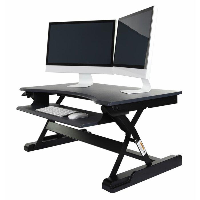 Brilliant Pangkal Pinang Level Up Premier Height Adjustable Standing Desk Converter Home Remodeling Inspirations Gresiscottssportslandcom