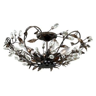 Lehoux 4-Light Semi Flush Mount by Lark Manor
