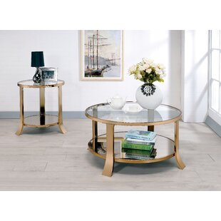 Rosdorf Park Marion 2 Piece Coffee Table Set