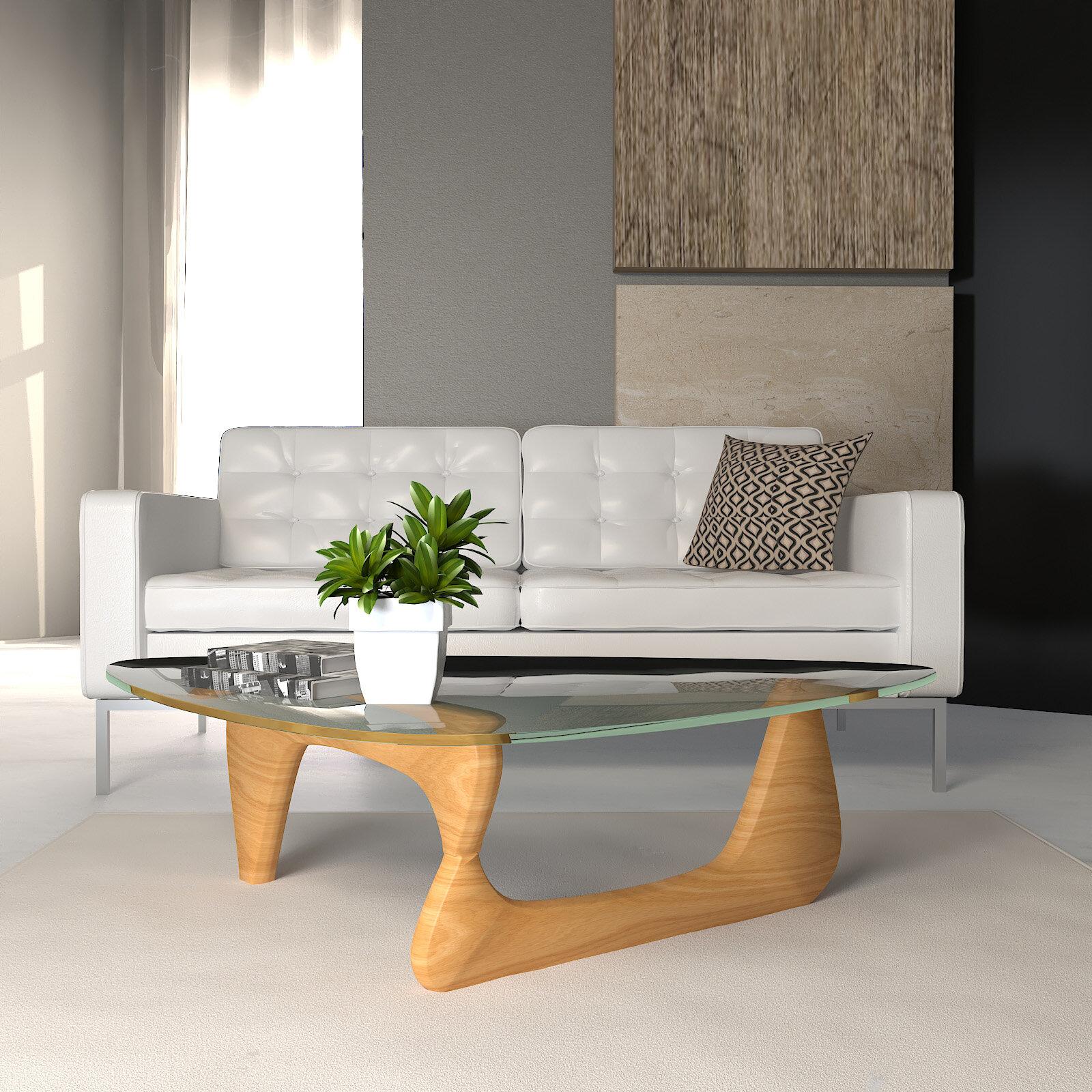 Orren Ellis Cali Abstract Coffee Table Reviews Wayfair