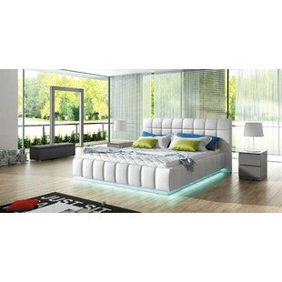 Coupon Amherst King Upholstered Platform Bed with Mattress by Orren Ellis Reviews (2019) & Buyer's Guide