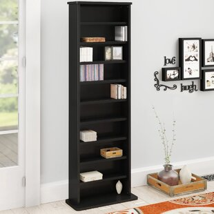 Conners Multimedia Standard Bookcase by Charlton Home 2019 Sale