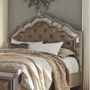 Goldberg Panel Upholstered Headboard by Fleur De Lis Living