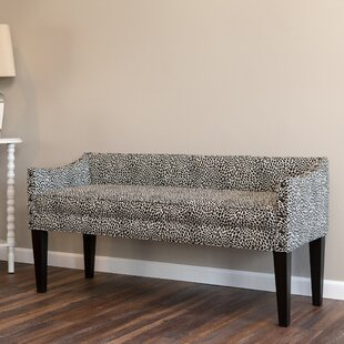 Caravelle Upholstered Bench by Bloomsbury Market New