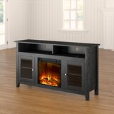 Kohn TV Stand for TVs up to 64 with Electric Fireplace Included by Zipcode Design™