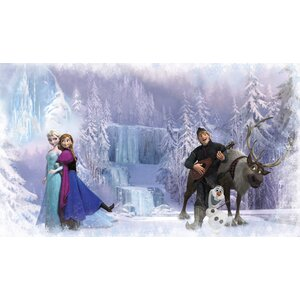 Disney Frozen Prepasted 10.5' x 72