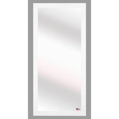 Brayden Studio White Beveled Vanity Wall Mirror Size: 32 H x 26 W x 0.75 D