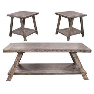 Asbury 3 Piece Coffee Table Set