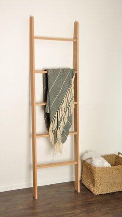 Oak 6 Ft. Blanket Ladder