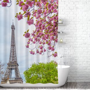 Ashworth Paris, France Single Shower Curtain