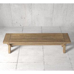 Mccutchen X Wood Bench by Gracie Oaks