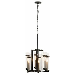 Breakwater Bay Six 6-Light Shaded Chandelier