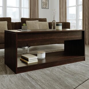 Aevry Lift Top Floor Shelf Coffee Table With Storage By Latitude Run