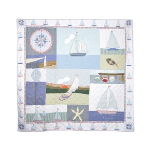 Breakwater Bay Leanna Nautical Drift Quilt