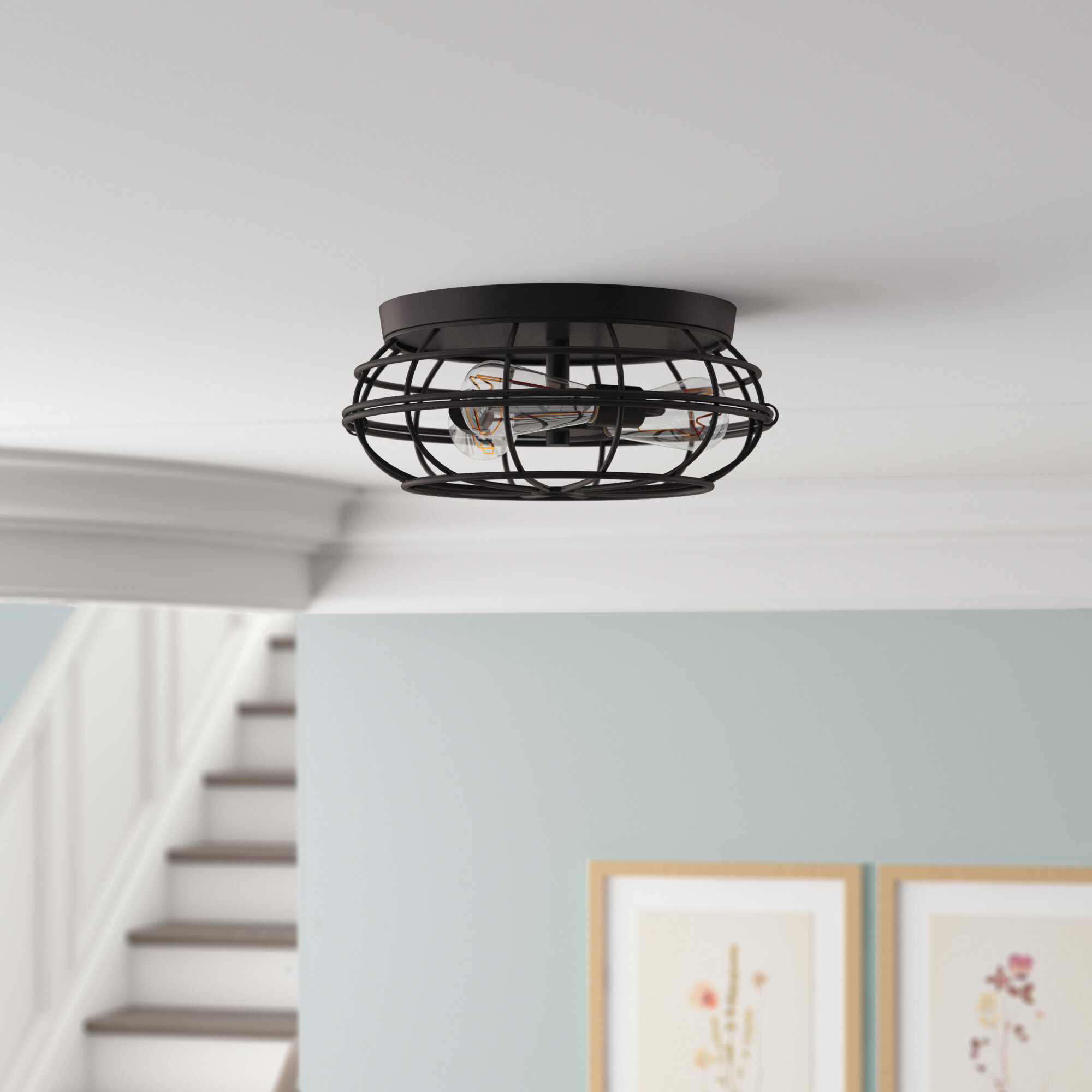 Flush Mount Lighting You Ll Love In 2020 Wayfair