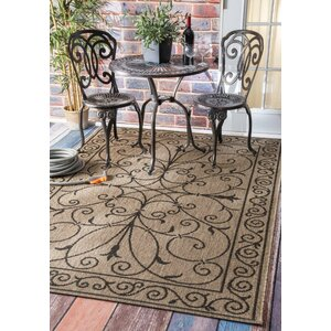 Eldred Brown Indoor/Outdoor Area Rug