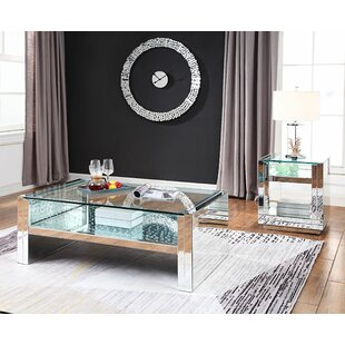 Rosdorf Park Longo 2 Piece Coffee Table Set