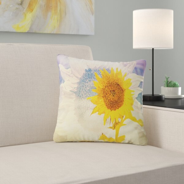 Yellow Sunflower Pillow Wayfair