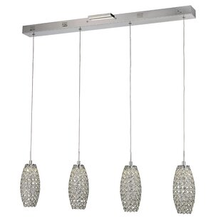 Abboud 4-Light LED Kitchen Island Pendant by Rosdorf Park