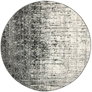 Lopp Black/Light Gray Area Rug by Trent Austin Design