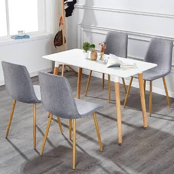 b82f1cc4b5 Wrought Studio Fidela Upholstered Dining Chair & Reviews | Wayfair