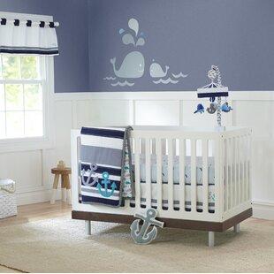 High Seas 3 Piece Crib Bedding Set (Set of 3)