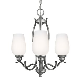 Darby Home Co Pavilion 3-Light Shaded Chandelier