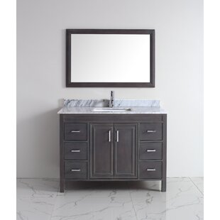 Looking for Coraline 48 Single Bathroom Vanity Set with Mirror By Bauhaus Bath