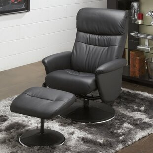 Solo Manual Recliner with Ottoman