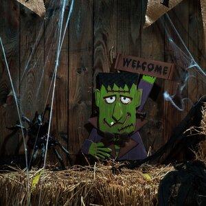 Wooden Hulk Garden Stake